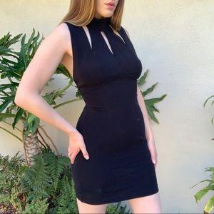 90's vintage little black dress